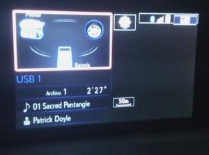Fallo pantalla Lexus IS 300H - Desaparece parte del navegador