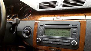 Volkswagen Passat 2.0 TDI DSG Consola central