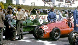 Ferrari. Silverstone 1950.