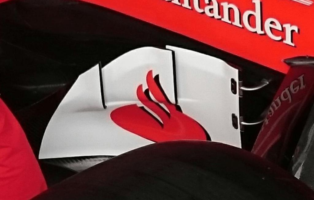 F1 Splitter Ferrari