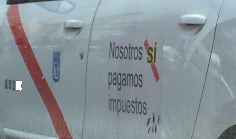 slogan taxi madrid